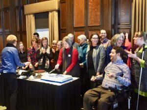 Celebrating 40 Years with the McBurney Disability Resource Center